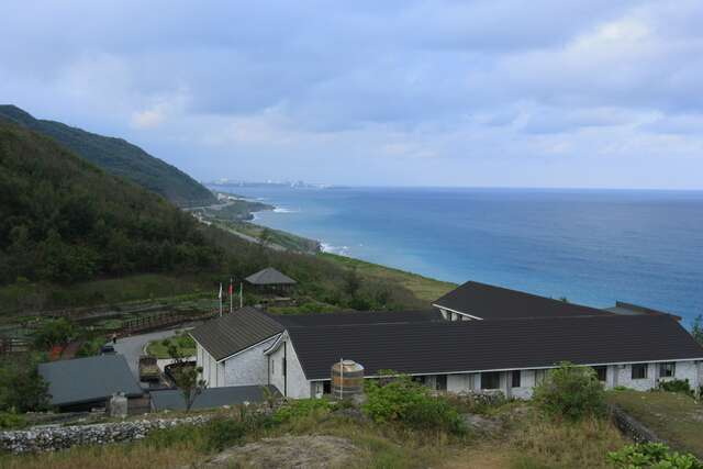 Hualien Visitor Center overlooking the scenic