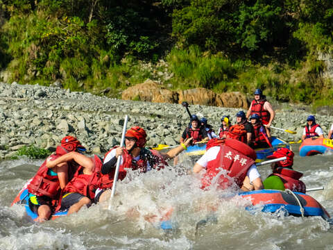 Xiuguluan River Rafting Triathlon