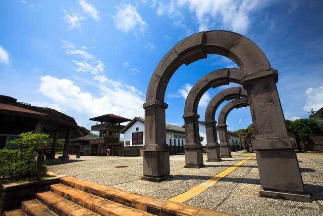 This is the arch of Asahi Spa