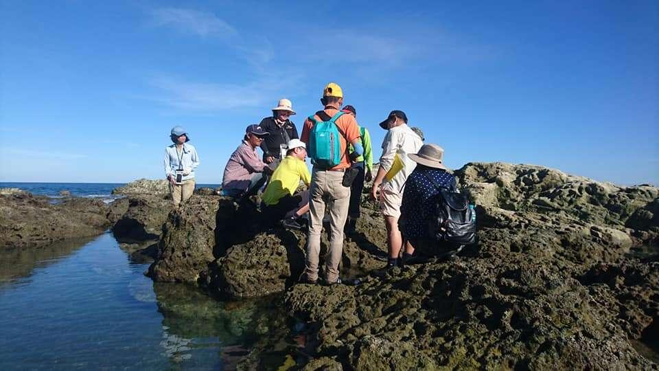 106年東部海岸生態監護工作坊影像紀錄-潮池解說
